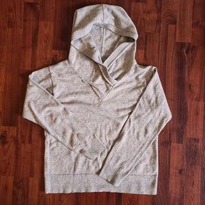 3/$25 Gap wool blend oatmeal hoodie